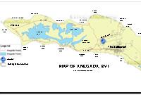 Anegada British Virgin Islands Map