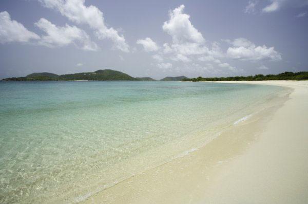 Long Bay At Beef Island British Virgin Islands